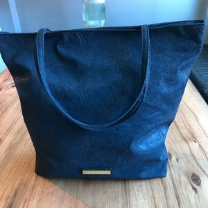 BCBGeneration Royal Blue Tote with zipper closure